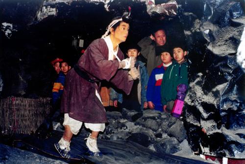 """1993年6月,""""模拟矿井""""正式对公众开放"""