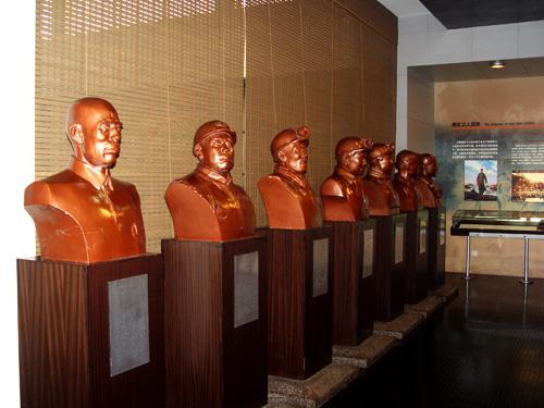 1994年10月,全国著名煤炭英模铜像揭幕