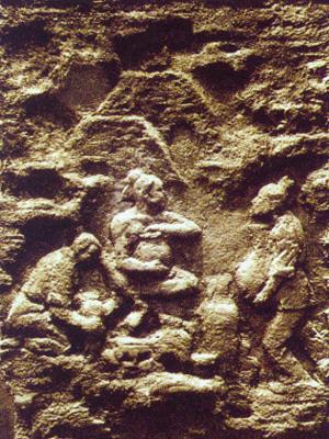 煤壁浮雕·煤炭与陶瓷业