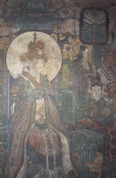 西王母(西壁中段)