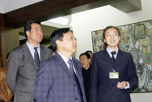 2004年中组部副部长李景田参