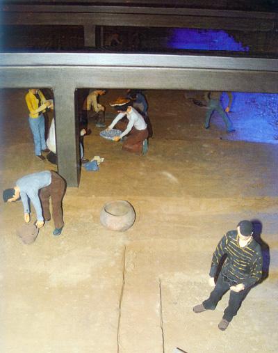挖掘与考古