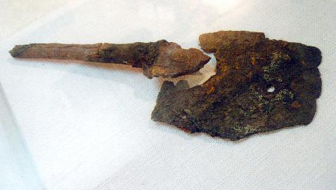 古代煤窑生产工具