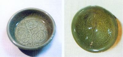 古代井下的灯盘