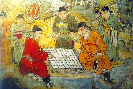 下棋图(元代)