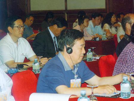 中国煤炭博物馆党委书记、馆长康明章在2006北京国际博物馆馆长论坛会场