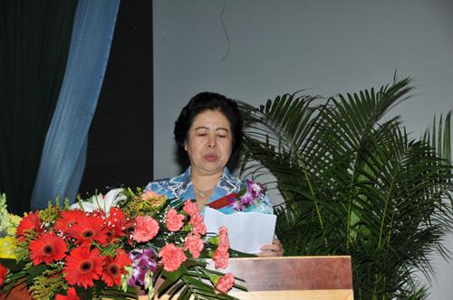 山西省省委常委、宣传部长胡苏平作重要讲话