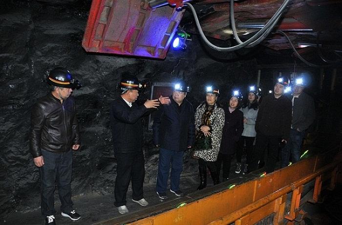 山西省科协副巡视员谢文治一行考察中国煤炭