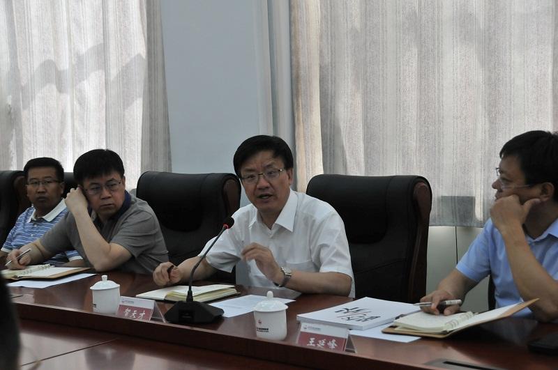 贺天才副省长在中国煤炭博物馆考察调研