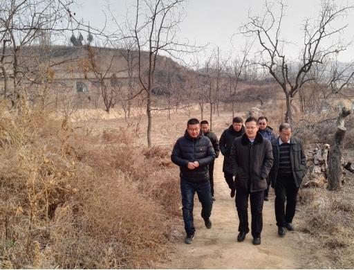 中国煤炭博物馆到阴德河村慰问贫困户