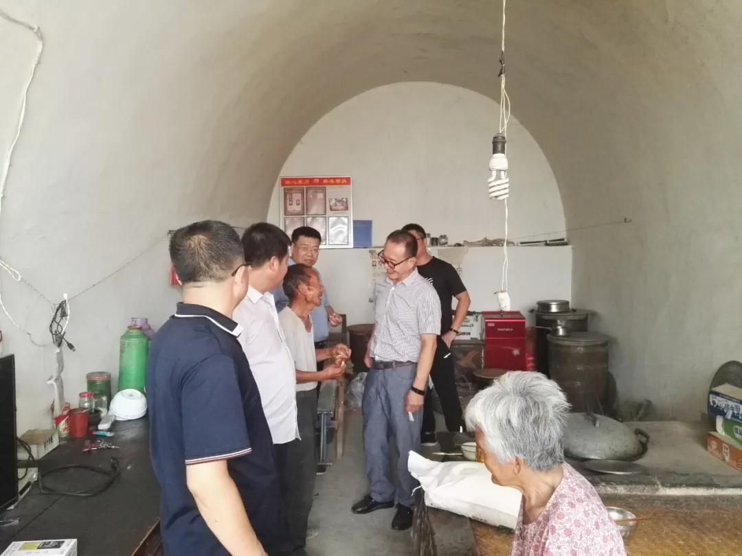 中国煤炭博物馆组织结对帮扶干部开展入户慰